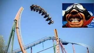 Gambar cover manege incroyable ACCROCHEZ-VOUS sensation EXTREME ROLLER COASTER  pov hd