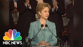 Hillary Clinton As Senator | Flashback | NBC News