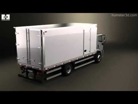Agrale 14000 Box Truck 2012 3D model by Humster3D.com