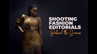 Editorial Fashion Photography - BTS (Benedicta Gafah)