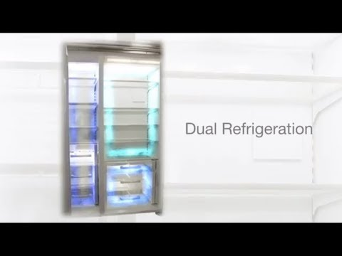 Sub-Zero Classic formerly Built-In Refrigeration - Dual Refrigeration