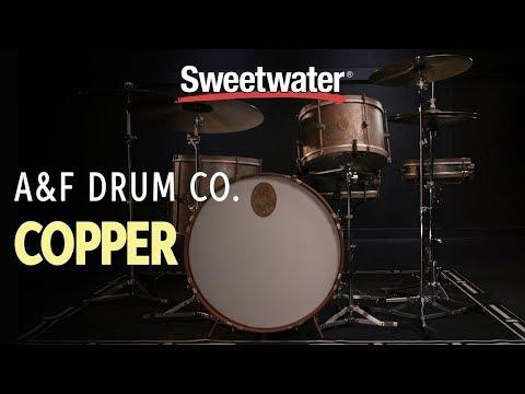 A&F Drum Company Copper Drum Kit Demo 🥁