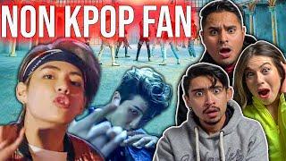 BTS 'FAKE LOVE'  & 'MIC Drop' Official MV Non Kpop Fan Reaction (converted?)