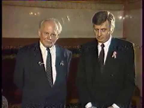 MTV2 1992.03.15.  Antall József, Göncz Árpád interjú letöltés