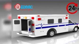 Medivic Road Ambulance in Darbhanga with Exigency Medical Aid