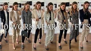 10 WORKWEAR / OFFICE OUTFITS | H&M ASOS TOPSHOP MANGO ZARA HAUL