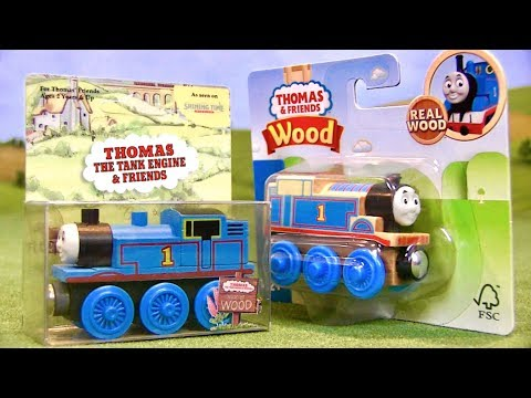 Evolution of Thomas Wooden Railway Packaging (1992-2018)