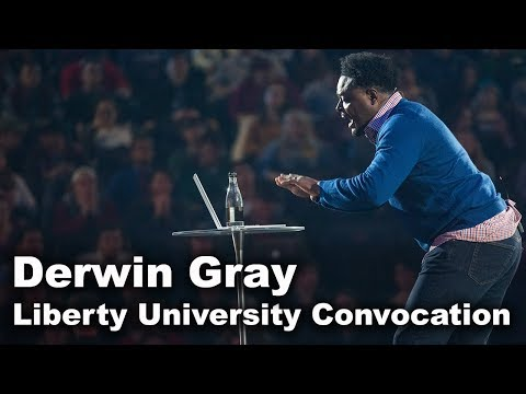 Derwin Gray - Liberty University Convocation
