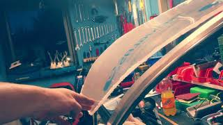 How To Replace Boat Windshield With Plexiglas DIY