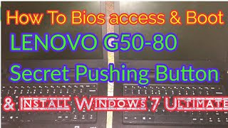 lenovo g50 boot from usb