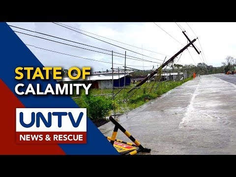 [UNTV]  State of Calamity, idineklara na sa Sorsogon City