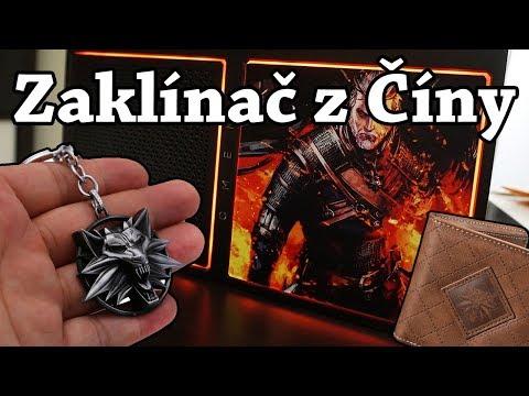 Witcher haul z Ali :) Zaklínačský přívěšek, prsten a další...