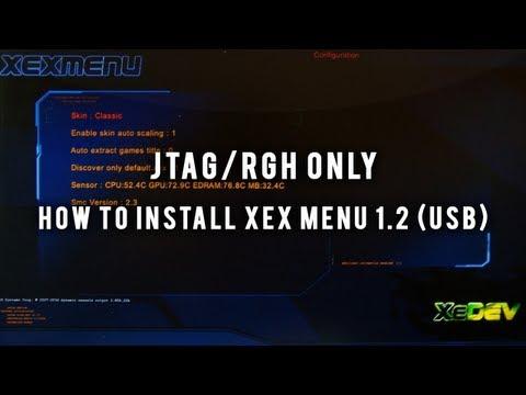 comment installer xexmenu