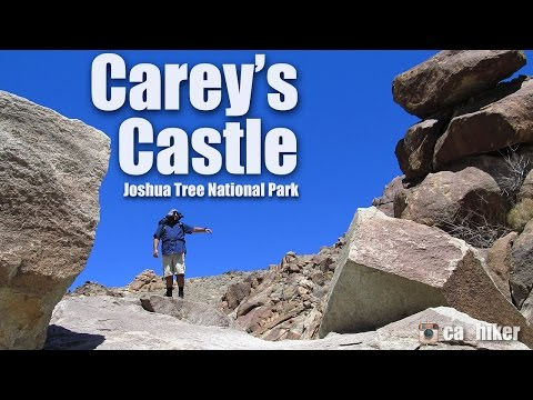 Video Carey's Castle - Hiking Joshua Tree National Park  (HD)