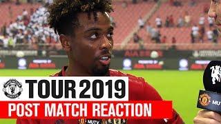 Manchester United   Tour 2019   Tottenham Hotspur   Angel Gomes Post Match Reaction   ICC