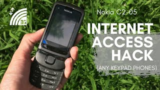 How to Connect Internet on Keypad Phone | Nokia C2-05 Worth it? Product Review | 2020 Refurbished