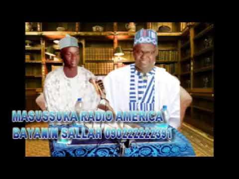 Sheikh Yahya Masussuka Radio America bayanin sallah 09022222391