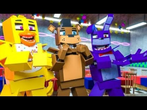 Minecraft FNAF 7 Pizzeria Simulator - NEW AND IMPROVED! (Minecraft Roleplay)