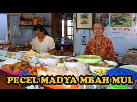 Video Pecel Madya Mbah Mul Pecel Legendaris di Salatiga