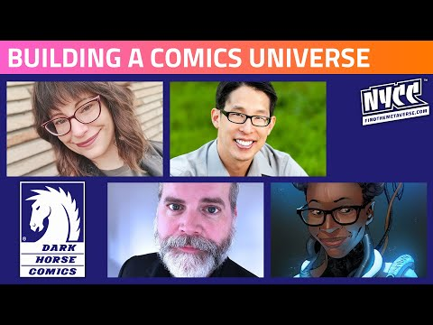 Creating Worlds - Building a Comics Universe for the Ages