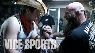 Canada's Beer Guzzling Arm Wrestler: Street Legends