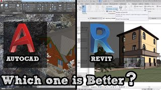 Autocad vs Revit which is Better