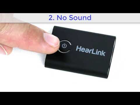 Troubleshooting the HearLink Assistive Listening Transmitter