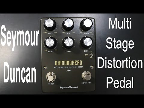 Seymour Duncan Diamondhead Multistage Distortion Boost Pedal Demo by Shawn Tubbs