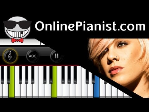P!nk Ft. Nate Ruess - Just Give Me A Reason - Piano Tutorial Mp3