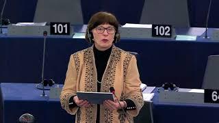 Sandra KALNIETE. EP plenary session: Russia - the influence of propaganda on EU countries