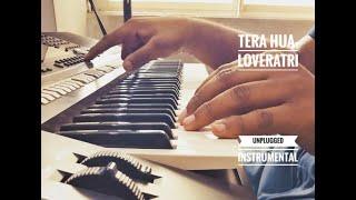 Tera Hua - Loveyatri | Unplugged Instrumental | Atif Aslam