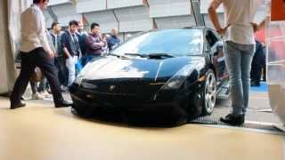 preview picture of video 'lamborghini crash bologna fiere  hahah da morir dal ridere'