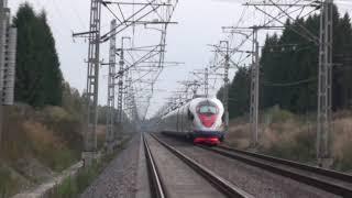 высокоскоростной полигон для поездов Ржд Санкт-Петербург-Москва