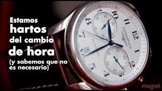 7 Razones para NO hacer el cambio de hora