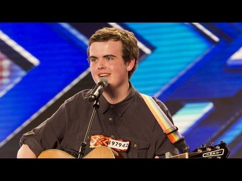 Curtis Golden's audition - Christina Aguilera's Candyman - The X Factor UK 2012