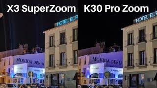 Realme X3 SuperZoom Vs Redmi K30 Pro Zoom Camera Comparison