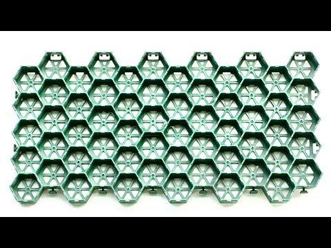 Газонная решетка  Ecoteck Green youtube