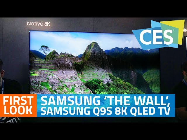 Samsung Unveils 146-Inch 'The Wall' 4K MicroLED TV, AI-Powered Q9S