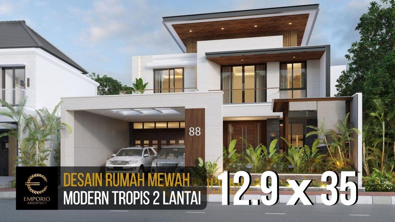 Video 3D Desain Rumah Modern 2 Lantai Bapak Kevin - Kudus, Jawa Tengah
