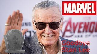 RIP Stan Lee (Godfather and Creator of Marvel Comic Book Super Heroes)
