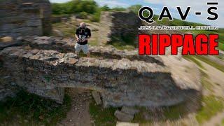 QAV-S Rippage - Lumineer JB Edition - DJI HD FPV Freestyle Cornwall