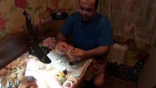 Изготовление воблера из пенопласта часть 2