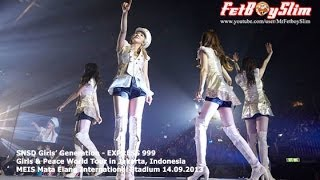 SNSD GIRLS' GENERATION - EXPRESS 999 live in Jakarta, Indonesia 2013