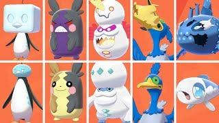 Pokémon Sword & Shield - All Secret Forms