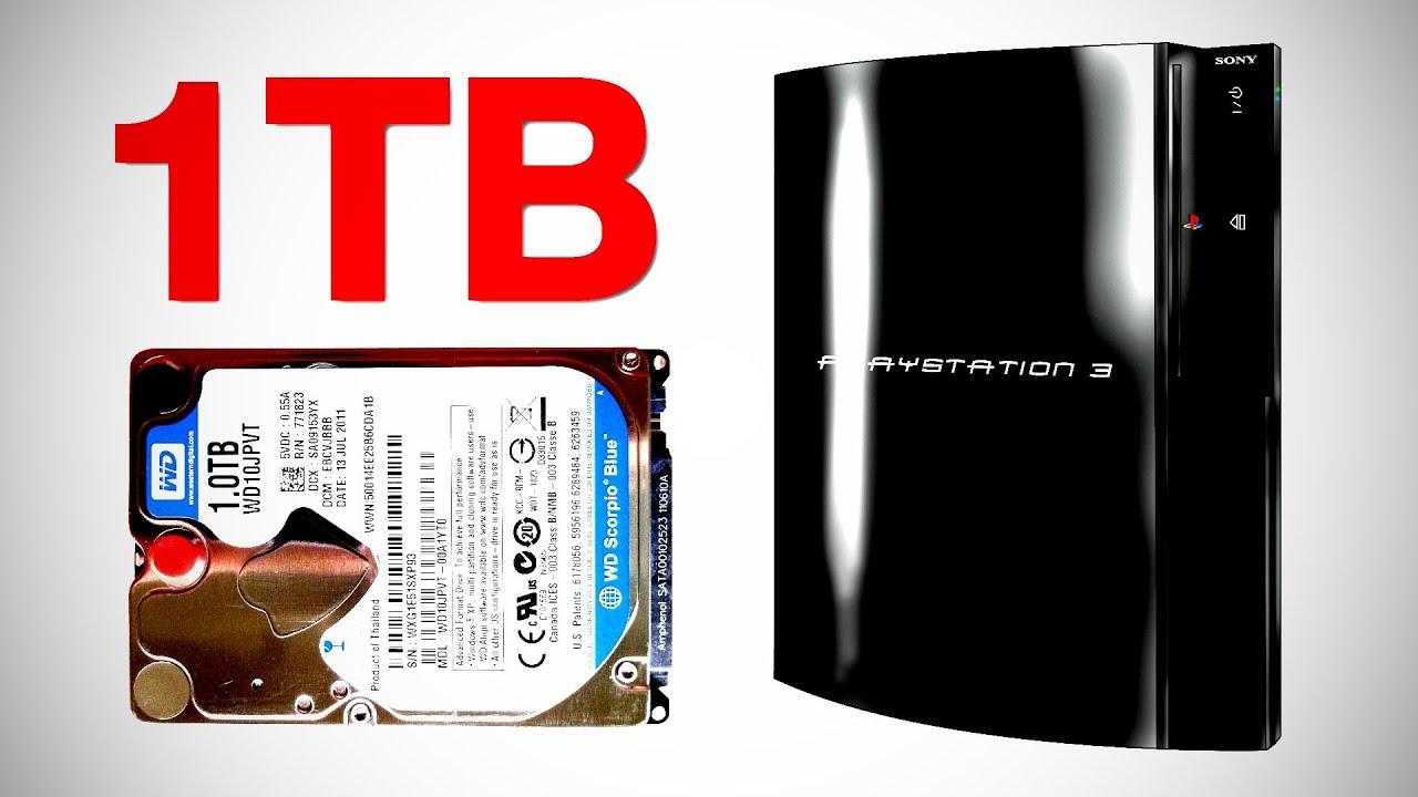 1TB PS3 Hard Drive Upgrade thumbnail