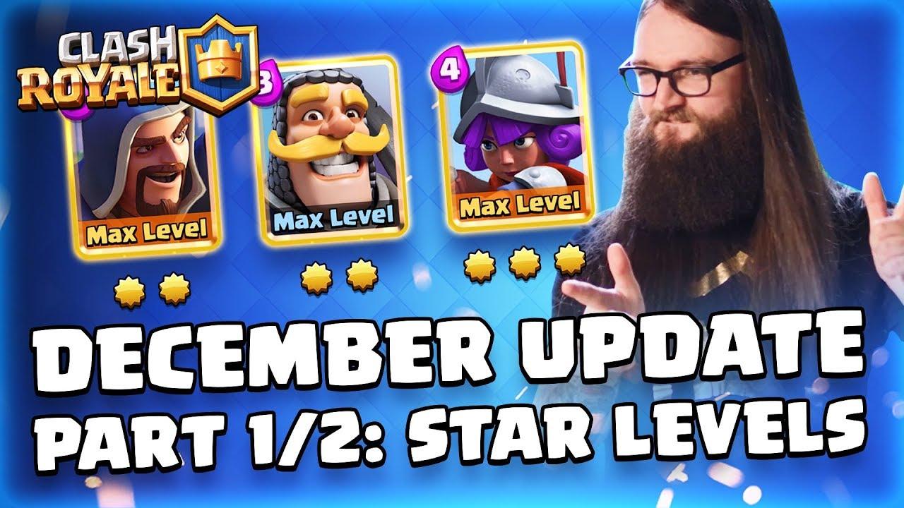 December 2018 Update #1: Star Levels | Blog - RoyaleAPI
