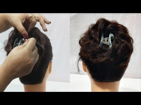 Beautiful Juda Hairstyle Using Clutcher Everyday Hairstyles For
