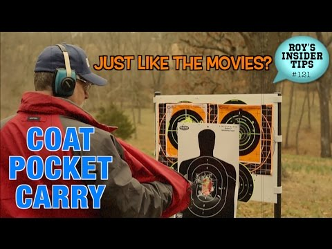 Coat Pocket Carry: Just Like The Movies?