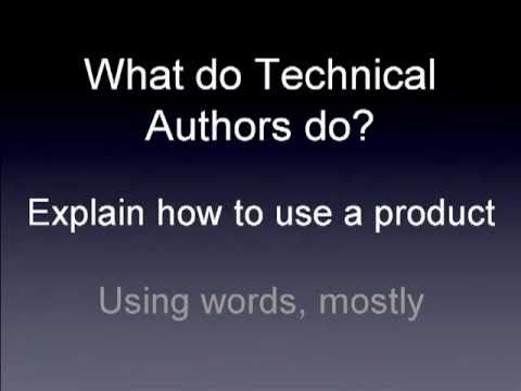 Technical Writing in 20 minutes - Part 1 - YouTube