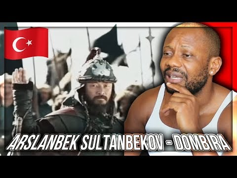 Arslanbek Sultanbekov - Dombıra TURKIC HISTORICAL MUSIC REACTION!!!